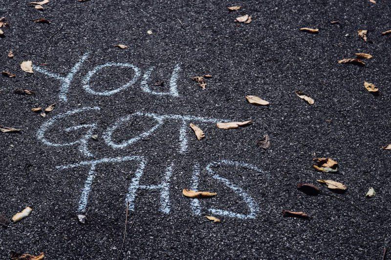 sidewalk chalk quote
